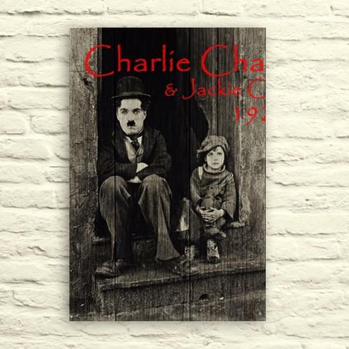 Fotocron Charlie Chaplin Tablo 24X34 Cm