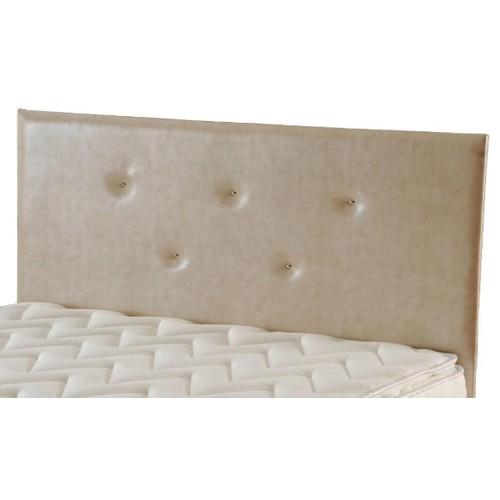 Zinde Yatak Manolya Düz Deri Yatak Başı - 140