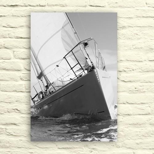 Fotocron Beyaz Yat Tablo 24X34 Cm