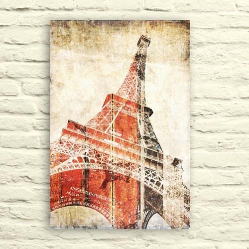 Fotocron Eyfel Kulesi -3 Tablo 24X34 Cm
