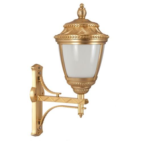 Şanlı Aliminyum Altın Yıldız Boyalı Hasır Model Fener Duvar Aplik