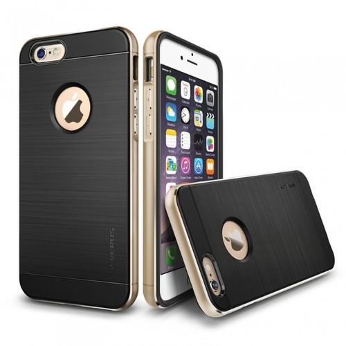 VERUS İphone 6 Kılıf Verus New Iron Shield Gold