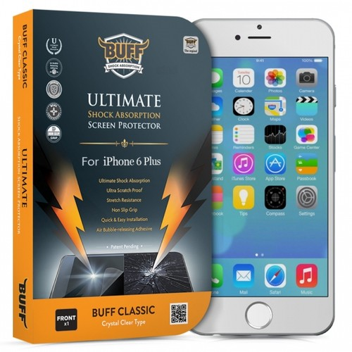 Buff Apple iPhone 6 Plus Darbe Emici Ekran Koruyucu Film