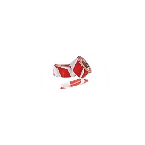 Starline Tek Taraflı Emniyet Şeridi 500 Metre Kırmızı Beyaz