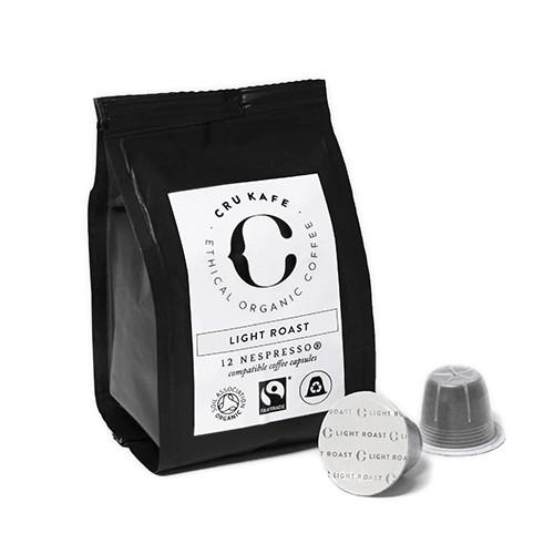 12 Adet Nespresso Uyumlu Organik Kapsul Kahve - Light (Sertlik: 7)