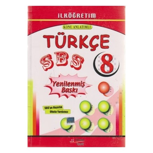 SBS Türkçe Konu Anlatımlı 8