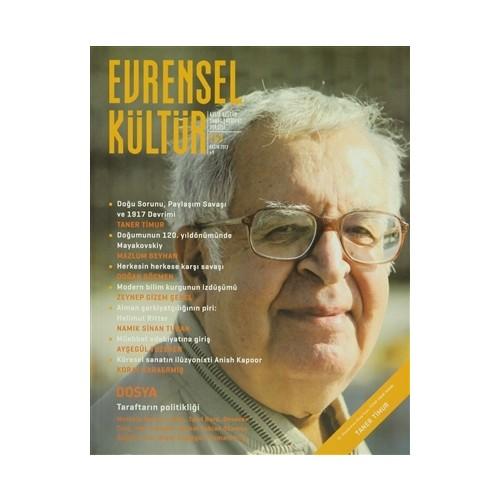 Evrensel Kültür Dergisi Sayı : 263 Kasım 2013