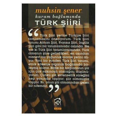 Kuram Bağlamında Türk Şiiri
