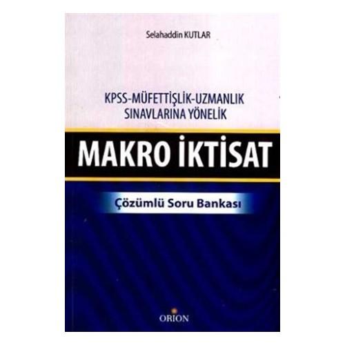 Makro İktisat - Çözümlü Soru Bankası
