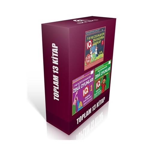 6-12 Yaş ve Üstü Çocuklar İçin Zeka Geliştiren Oyunlar (13 Kitap)