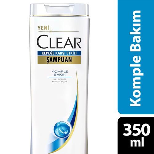 Clear Şampuan Komple Bakım 350 ml
