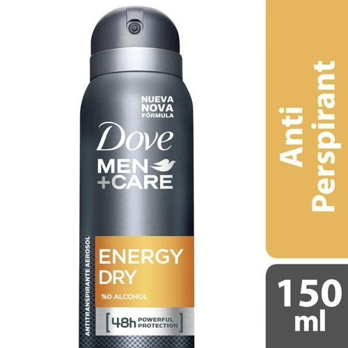 Dove Men Deodorant Sprey Energy Dry 150 Ml