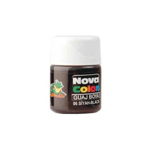 Nova Guaj Boya Siyah Şişe Nc-108