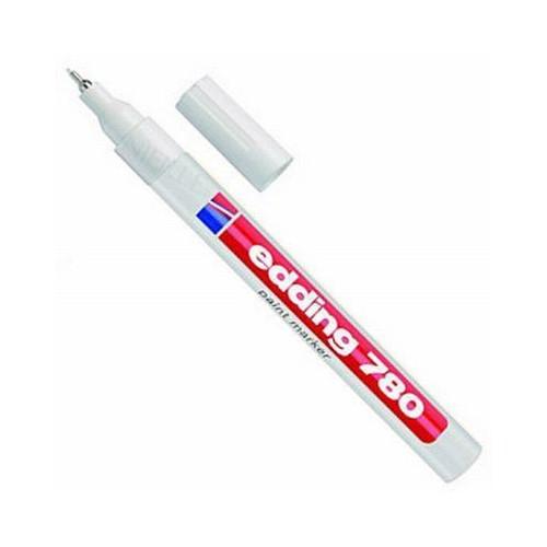 Edding 780 Beyaz İğne Uçlu Marker Kalem 1 Mm