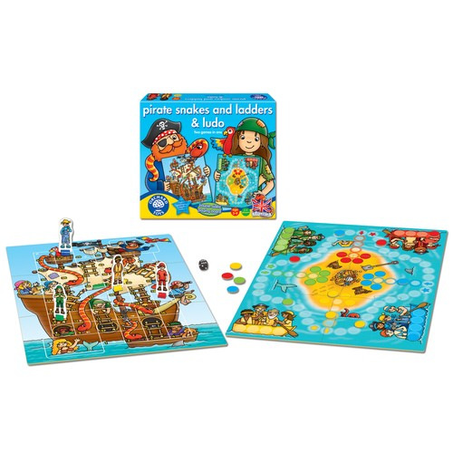 Orchard Pirate Snakes And Ladders & Ludo / 5-9 Yaş