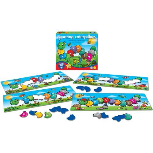 Orchard Toys Counting Caterpillards 3 Yaş+