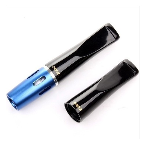 Zobo Mavi Çelik,Plastik Normal Sigara Ağızlığı, Ağızlık de30