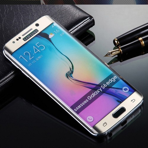 Samsung Galaxy S6 Edge Kavisli Pet Koruma Oval cin23sr