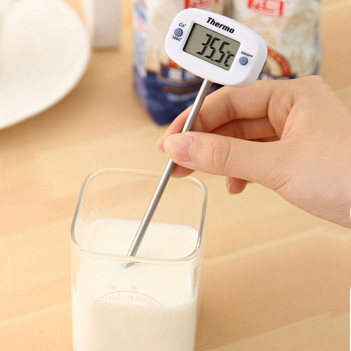 Termometre Sıvı,Gıda,Et,Su,Yiyecek Sıcaklık Ölçer Mutfak thr148