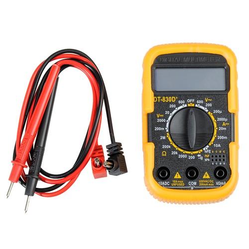 MultiTester Sarı-Siyah Kablolu Dijital Multimetre thr153