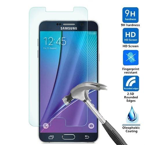 9H S6 Samsung G920 Kırılmaz Cam Ekran Koruyucu Arka