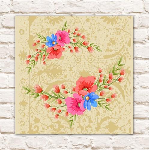 Cadran Home Dekoratif 30x30 MDF Tablo CHTT20
