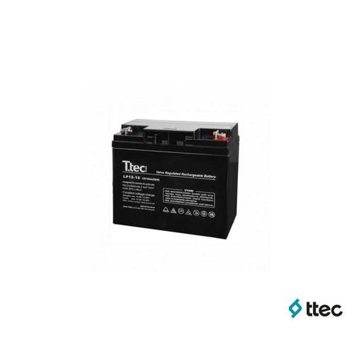T.Tec Plus 12V 18Ah Bakımsız Kuru Akü