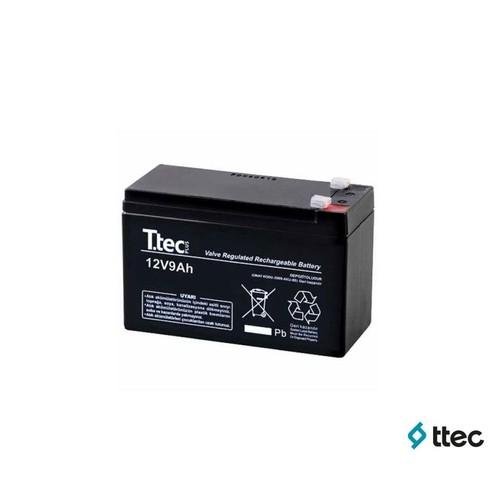 T.Tec Plus 12V 9Ah Bakımsız Kuru Akü