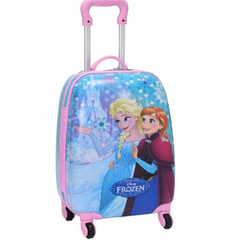 Disney Frozen Karlar Ülkesi Elsa Ve Anna Çocuk Bavulu Kabin Boy 87941
