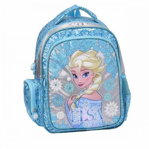 Frozen Karlar Ülkesi Elsa Okul Sırt Çantası Mavi 87376