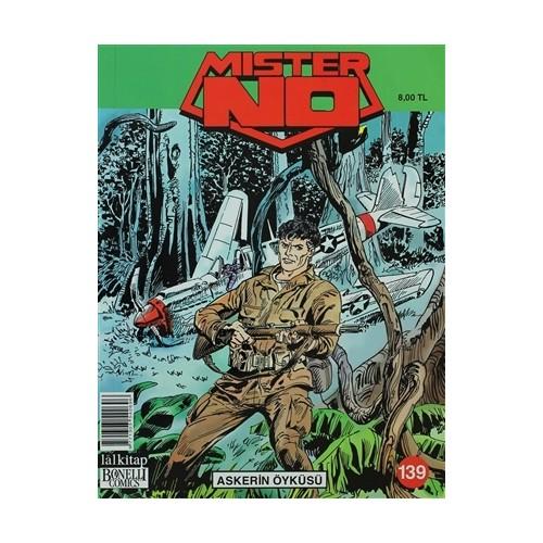 Mister No Cilt: 139 Askerin Öyküsü