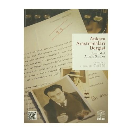 Ankara Araştırmaları Dergisi Cilt : 1 Sayı : 2 / Journal of Ankara Studies