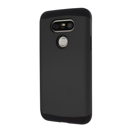 Microsonic LG G5 Kılıf Slim Fit Dual Layer Armor Siyah