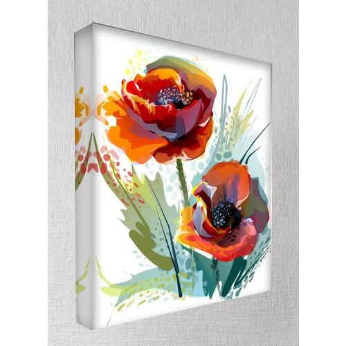 Kanvas Tablo - Çiçek Resimleri - C249