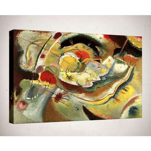 Kanvas Tablo - Soyut Modern Tablolar - Mts51