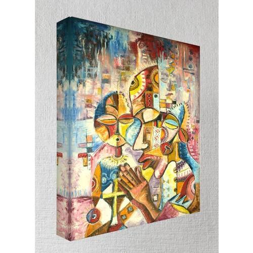 Kanvas Tablo - African - Af06