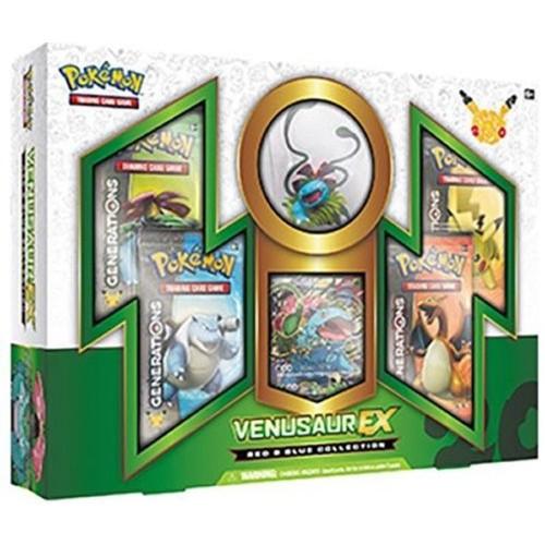 Pokemon Pokemon Tcg Venusaur Ex Box Red&Blue Collection