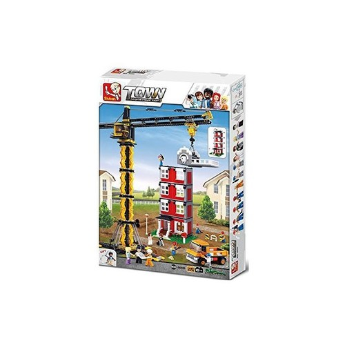 Sluban Construction Kule Vinç 1461 Parça