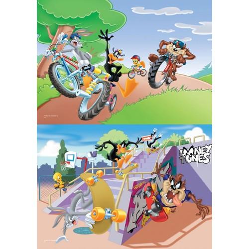 Ks Games 35 ve 60 Parçalık 2in1 Çocuk Puzzle Looney Tunes