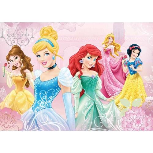 Ks Games 100 Parça Puzzle Disney Princess