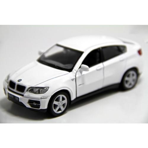 Kinsmart Beyaz BMW X6 1:38 Model Çek Bırak Oyuncak Araba