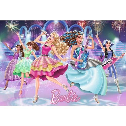 Trefl 100 Parça Barbie Rock in Royal Çocuk Puzzle