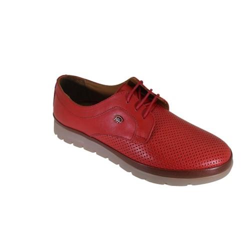 King Paolo K8375 Kadın Günlük Deri Casual Ayakkabı