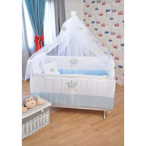Beyaz Elyeza Kral Bebek Beşiği