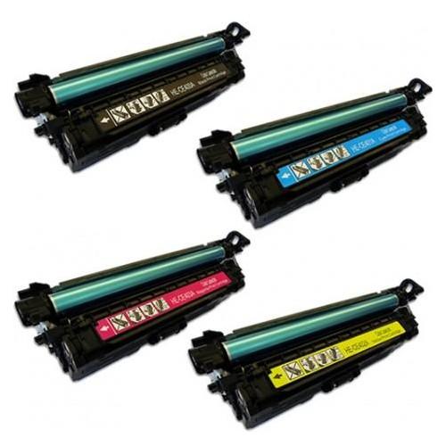 Hp M551/M570/M575 4 Renk Muadil Toner Ce400A-Ce403A (507A)