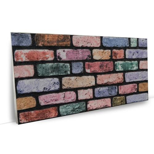 Vardek Renkli Tuğla Strafor Duvar Paneli