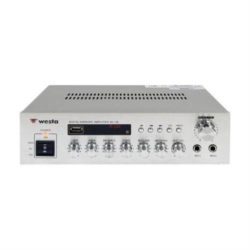 Westa Av-126 Stereo Amfi 2X100 Watt 220/12V