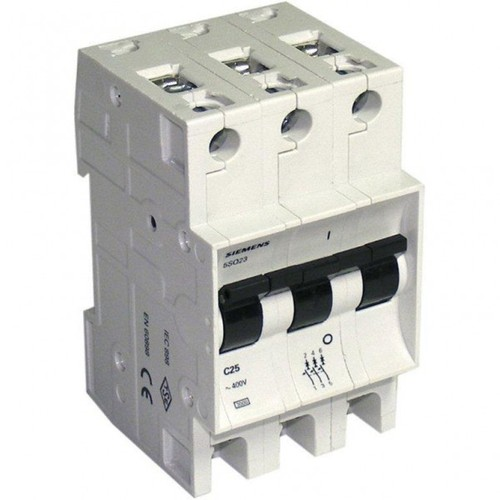 Siemens 3 Fazlı Otomatik Sigorta - C3x20Ax3kA