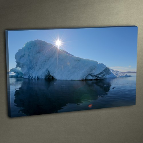 Duvar Tasarım DLC 3010 Ledli Kanvas Tablo - 50x70 cm