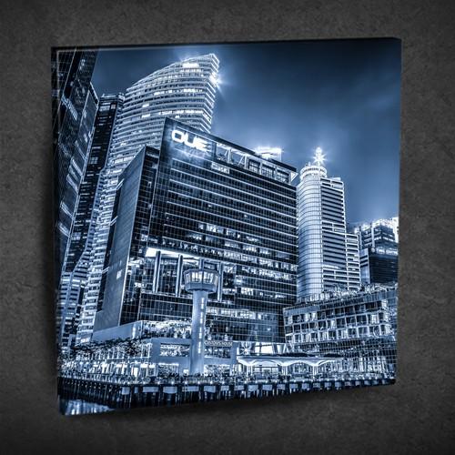 Duvar Tasarım DLC6115 Ledli Kanvas Tablo - 35x35 cm